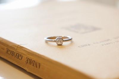 Flanders cut diamond ring