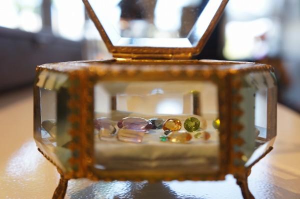 色とりどりの宝石たち