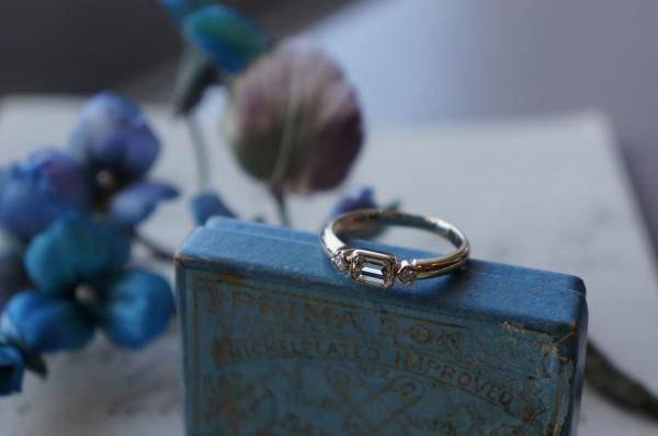 """""""ときめき""""の結婚指輪"""