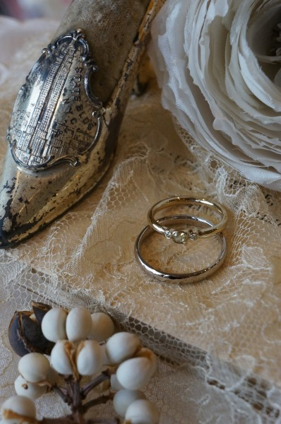 お気に入りの結婚指輪♪