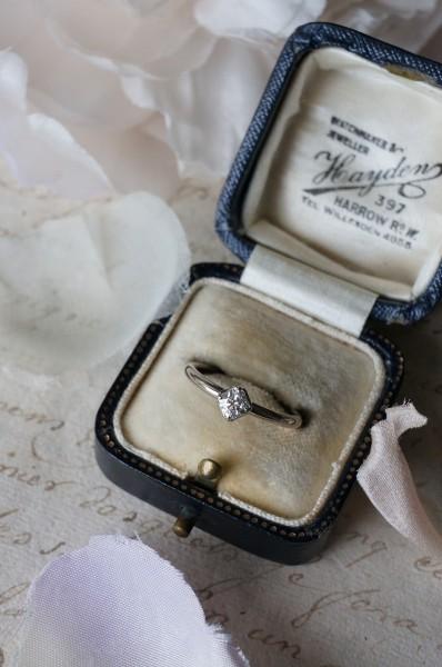 世界で1つの素敵な婚約指輪